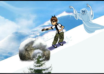 Play Ben 10 and The Ghost online - Screenshot 2