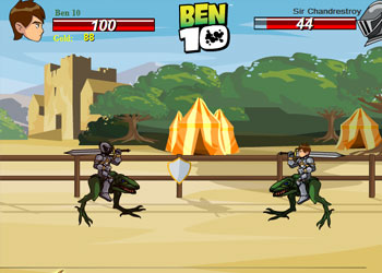 Play Ben 10 at the Colosseum online - Screenshot 1