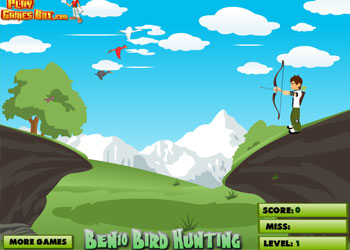 Play Ben 10 Bird Hunting online - Screenshot 1