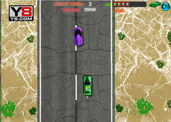 Play Ben 10 Car Chase online - Screenshot 1