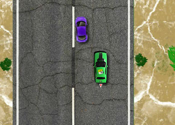 Play Ben 10 Car Chase online - Screenshot 2