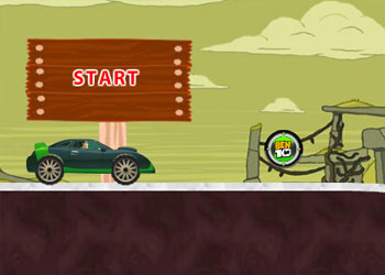 Play Ben 10 Car Rush online - Screenshot 2