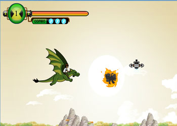 Play Ben 10 Dragon Blaze online - Screenshot 1