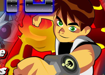 Play Ben 10 Fireman online - Screenshot 1