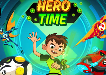 Play Ben 10 Hero time online - Screenshot 1