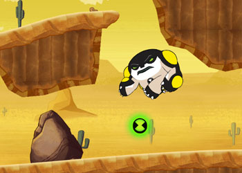 Play Ben 10 Hero time online - Screenshot 2
