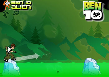 Play Ben 10 Ice Jump online - Screenshot 1