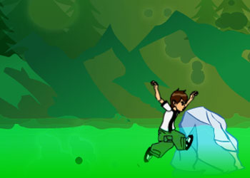 Play Ben 10 Ice Jump online - Screenshot 2