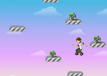 Play Ben 10 Power Jump online - Screenshot 1