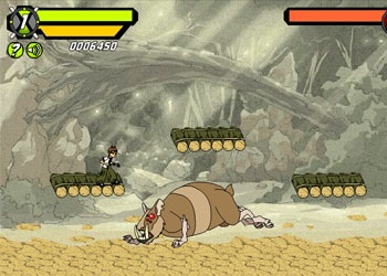 Play Ben 10 Savage Pursuit online - Screenshot 2