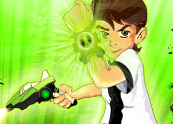 Play Ben 10 Shoot Out online - Screenshot 1