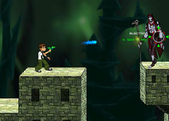 Play Ben 10 Shoot Out online - Screenshot 2