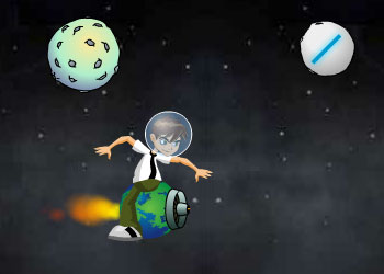 Play Ben 10 Space War online - Screenshot 2