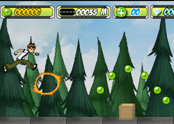 Play Ben 10 Super Run online - Screenshot 1