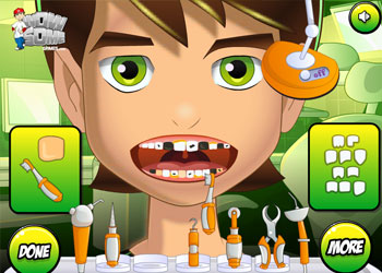 Play Ben 10 Tooth Problems online - Screenshot 1