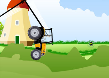 Play Ben 10 Tractor online - Screenshot 1