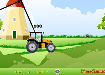Play Ben 10 Tractor online - Screenshot 2