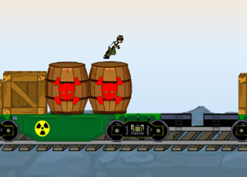 Play Ben 10 Train Champ online - Screenshot 2
