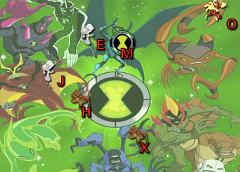 Play Ben 10 Typing online - Screenshot 1