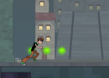 Play Ben 10 Undertown Runner online - Screenshot 2