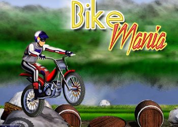 Play Bike Mania online - Screenshot 1