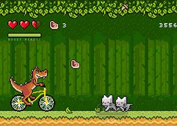 Play Bikosaur online - Screenshot 2