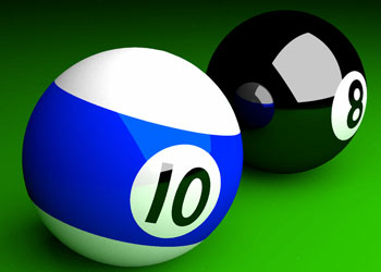 Play Billiards online - Screenshot 1