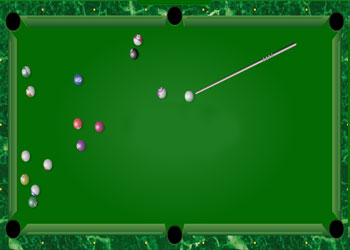 Play Billiards online - Screenshot 2