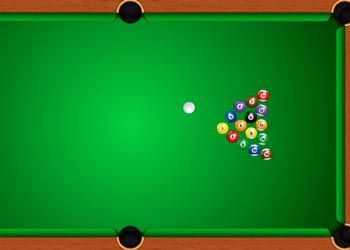 Play Billiards game online - Screenshot 1