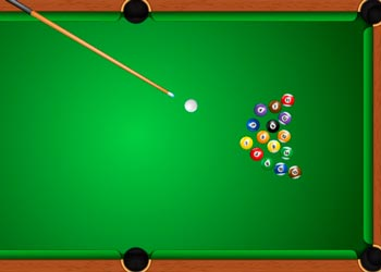Play Billiards game online - Screenshot 2