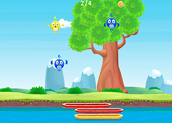 Play Birdy Drop online - Screenshot 1