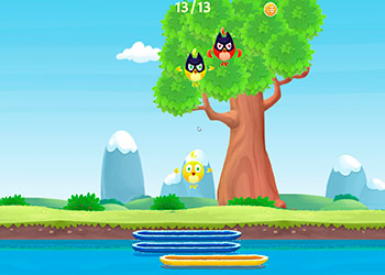 Play Birdy Drop online - Screenshot 2