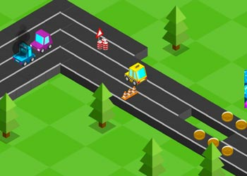 Play Block Racer online - Screenshot 2