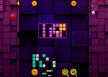 Play Block Riddle online - Screenshot 1