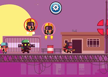 Play Blocky Sharpshooter online - Screenshot 2