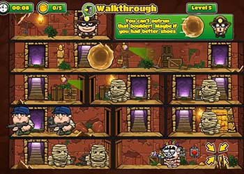 Play Bob The Robber 5: The Temple Adventure online - Screenshot 1