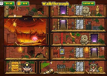 Play Bob The Robber 5: The Temple Adventure online - Screenshot 2