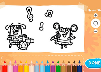 Play Boj Coloring Book online - Screenshot 1