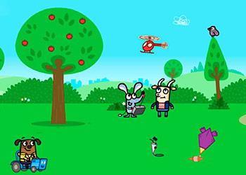 Play Boj Giggly Park Adventure online - Screenshot 1