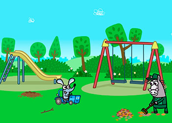 Play Boj Giggly Park Adventure online - Screenshot 2