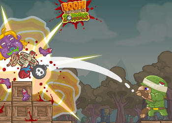 Play Boom Go The Zombies online - Screenshot 1