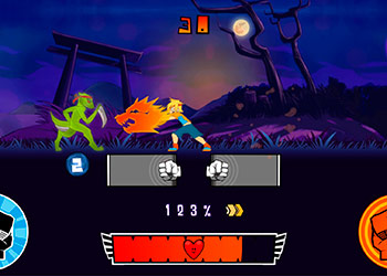 Play Boxing Fighter Shadow Battle online - Screenshot 1