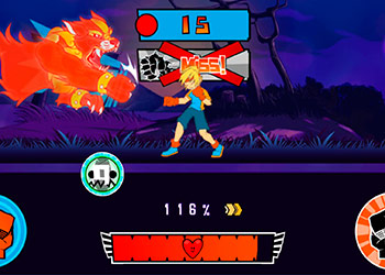 Play Boxing Fighter Shadow Battle online - Screenshot 2