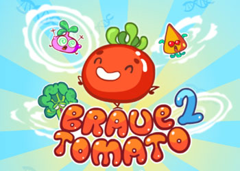 Play Brave Tomato 2 online - Screenshot 1