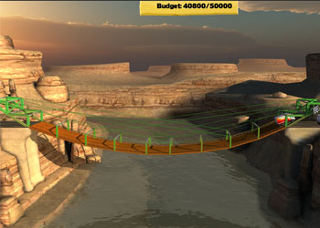 Play Bridge Constructor online - Screenshot 2