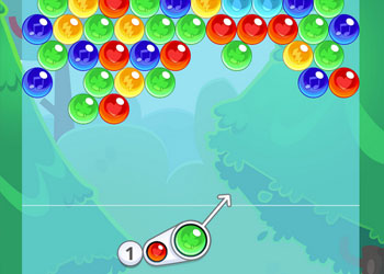 Play Bubble Charms game online - Screenshot 1
