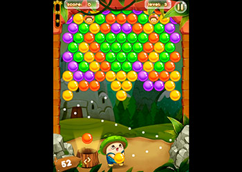 Play Bubble Pop Adventures online - Screenshot 1