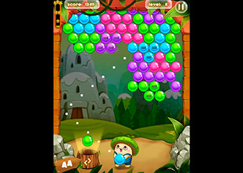 Play Bubble Pop Adventures online - Screenshot 2