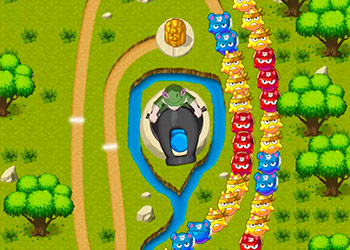 Play Bubble Shooter 2 online - Screenshot 1