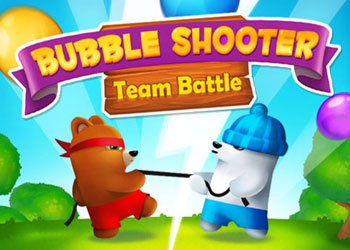 Play Bubble Shooter Team Battle online - Screenshot 1